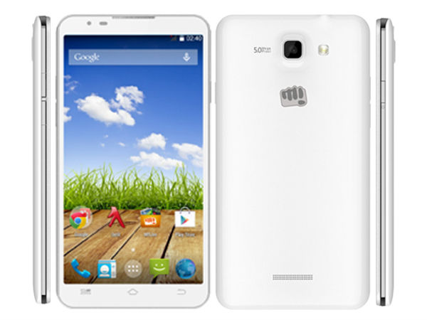 Micromax Canvas XL2 A109 With 5.5-inch Display Now Listed Online