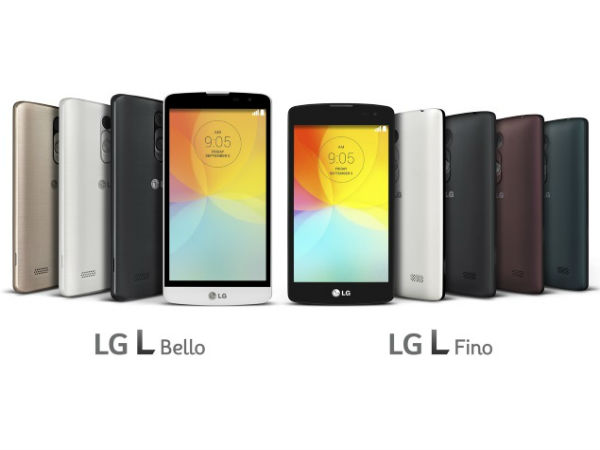 LG launches L Bello, L Fino Smartphones Ahead of IFA 2014