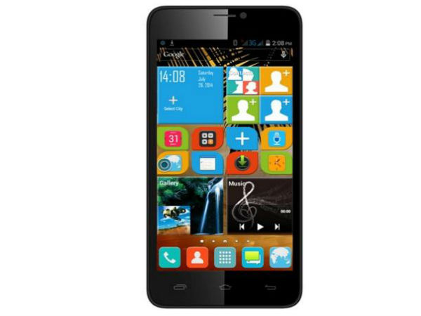 Micromax Canvas XL2 Vs Karbonn Titanium S19: Display and Dimensions
