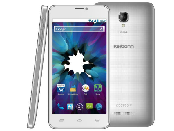 Micromax Canvas XL2 Vs Karbonn Titanium S19: Storage and RAM
