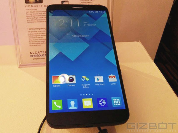 Alcatel One Touch Hero: Display and Processor