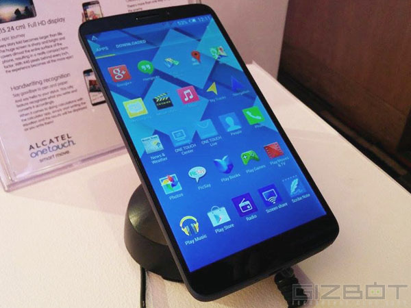 Alcatel One Touch Hero: OS and Battery