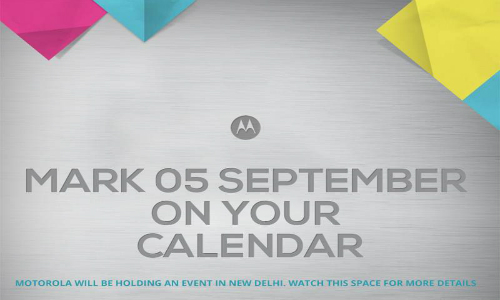 Motorola To Host Special September 5 Event in India: What To Expect