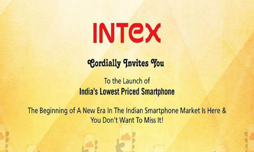 Intex to Launch Firefox OS Powered Smartphone Cloud FX in India