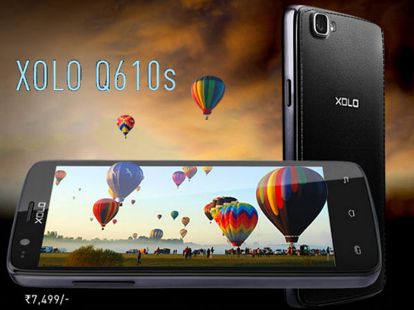 Xolo Q610s With Quad Core CPU Now Available For Rs 7,499