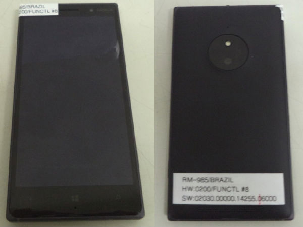 Nokia Lumia 830 Leaks Ahead of Official Announcement in September