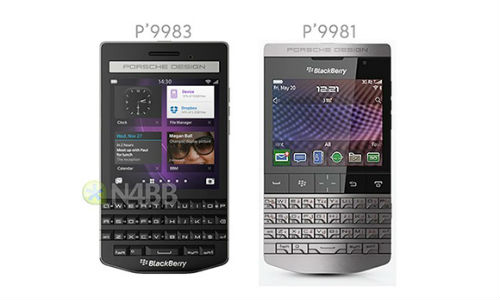 BlackBerry Porsche Design P'9983 With Codename 'Khan' Leaked