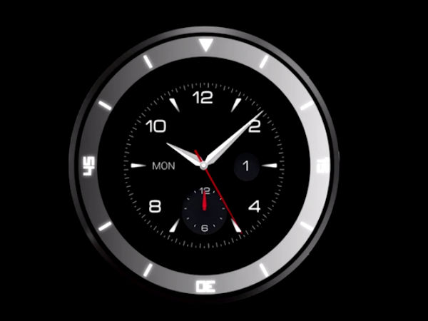 LG To Unveil Circular Smartwatch Dubbed G Watch R At The IFA 2014