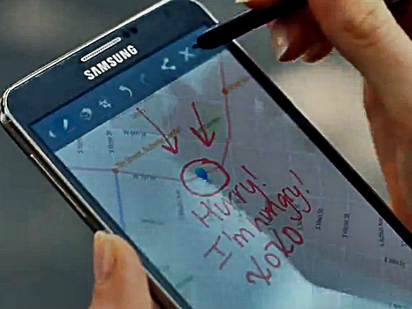 Samsung Galaxy Note 4 New Teaser Video Highlights S Pen