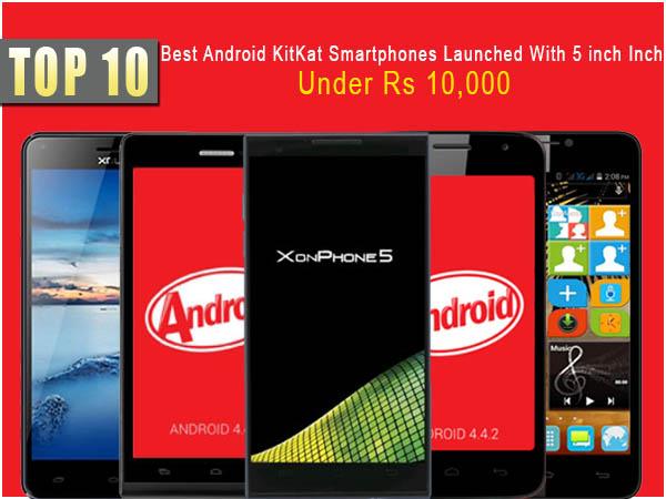 top 10 android phones 2014 below 10000