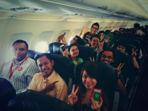AirAsia Launches Free WiFi For Passengers in Flight On Trial Basis