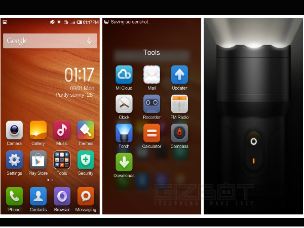 Xiaomi Redmi 1S Tips and Tricks: Torch Mode