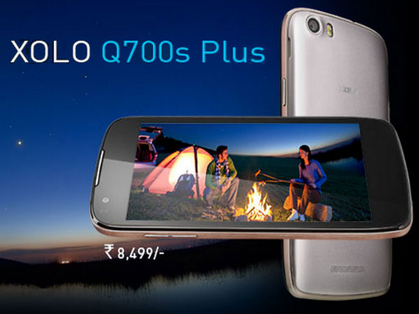 Xolo Q700s Plus:  Buy At Price Of Rs 8,121