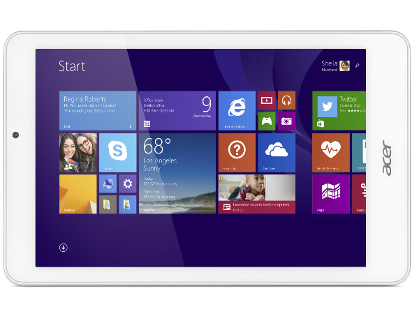 Acer Iconia Tab 8 W: Affordable Windows 8.1 Powered Tablet ...