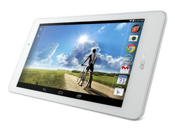 Acer at IFA 2014 On a Tablet High: Iconia Tab One 8, Tab 10 Unveiled