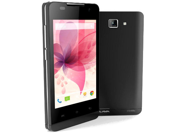 Lava Iris 400Q With Android KitKat Now Available For Rs 5,499
