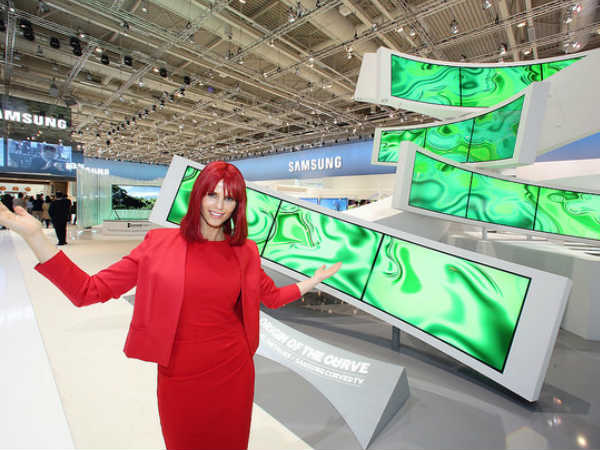 Samsung Launches Monster 105 Inch UHD Curved TV That Bends