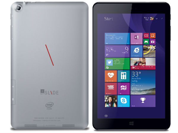iBall Launches its First 8-Inch Windows Tablet at Rs 16,999