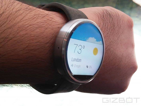 Motorola Moto 360 Smartwatch With Android Wear Launched