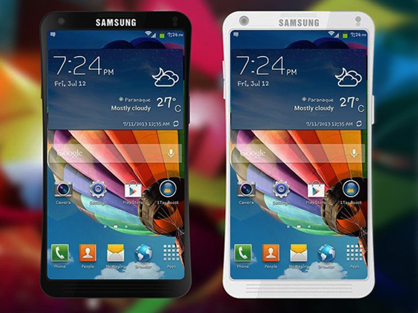 Samsung Galaxy S6: Flexible Screen