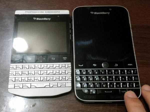 BlackBerry Classic Live Photos Leak Online