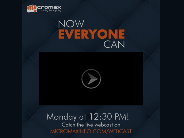 Micromax to Launch Canvas Nitro: Watch Live Webcast Here