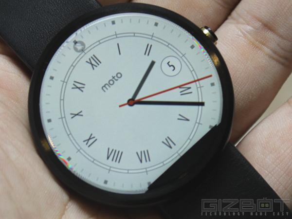 Motorola Moto 360 First Look
