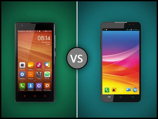 Xiaomi Redmi 1S vs Micromax Canvas Nitro: Comparison