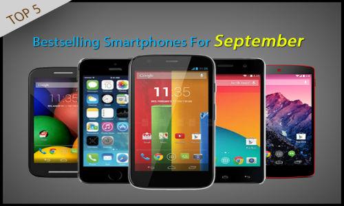 Top 5 Best Selling Smartphones for September 2014
