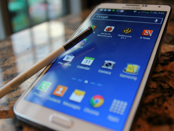 11 million Samsung Galaxy Note 4 Units Will be Shipped in 2014