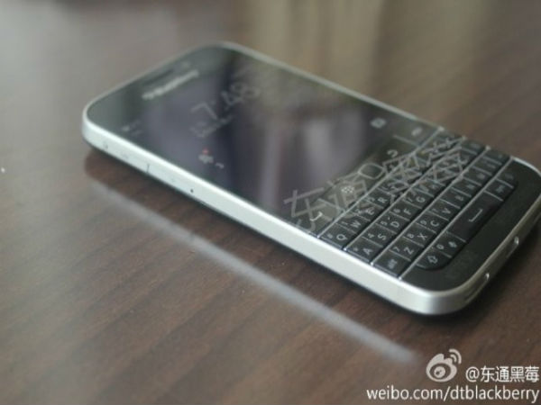 BlackBerry Classic Image Leaks: 13MP Rear Facing Camera Tipped