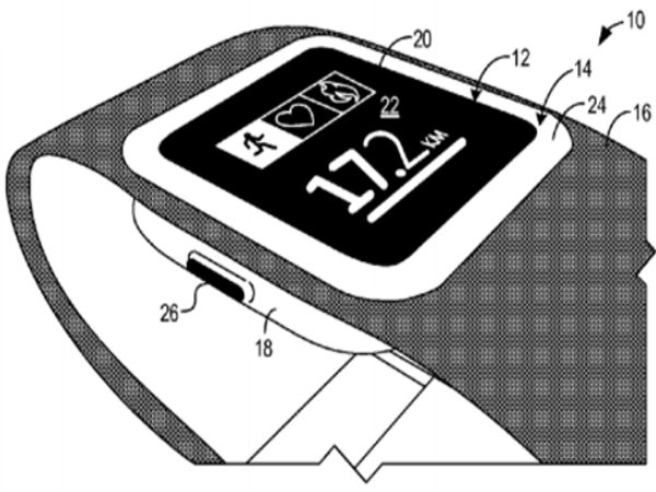Microsoft Patent Filing Points at Possible Features of Smartwatch