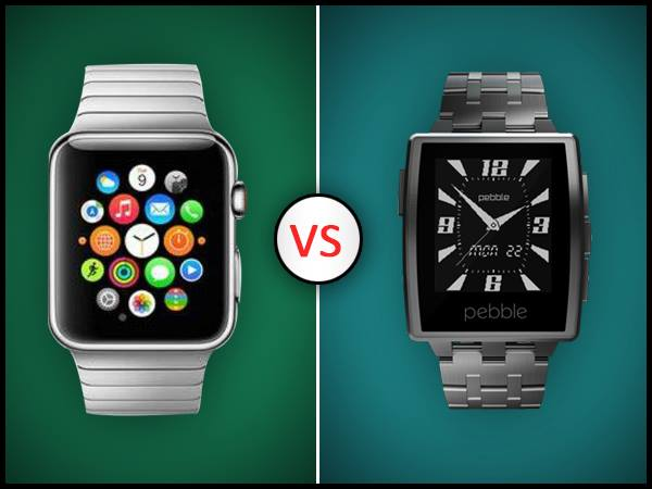 Apple Watch Vs Pebble Steel: Smartwatch Rivalry Heats Up