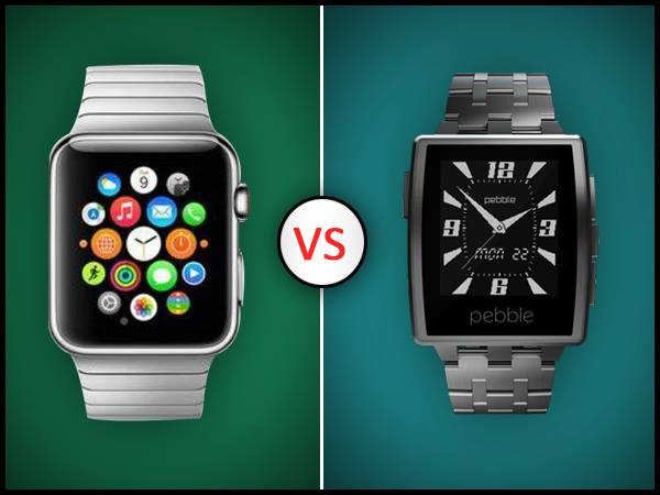 Apple Watch Vs Pebble Steel: Smartwatch Rivalry Heats Up