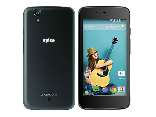Spice Android One Dream UNO Mi-498 Specs, Price Accidently Listed