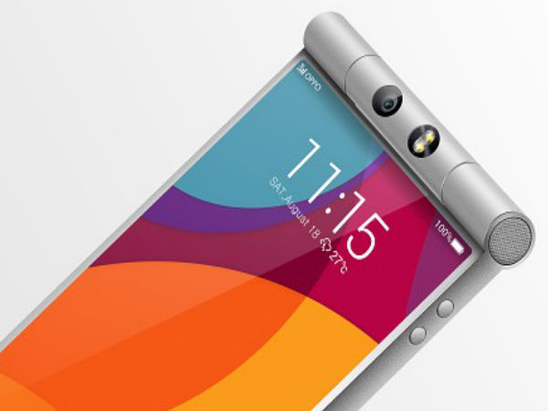 Oppo N3 First Press Images Leak Online Showing New Rotating Camera