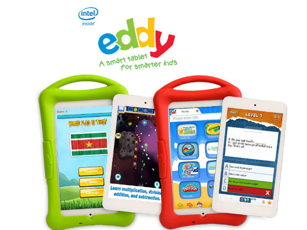 Intel-Metis Launch Eddy Tablet for Kids At Rs 9,999 With 160 Apps