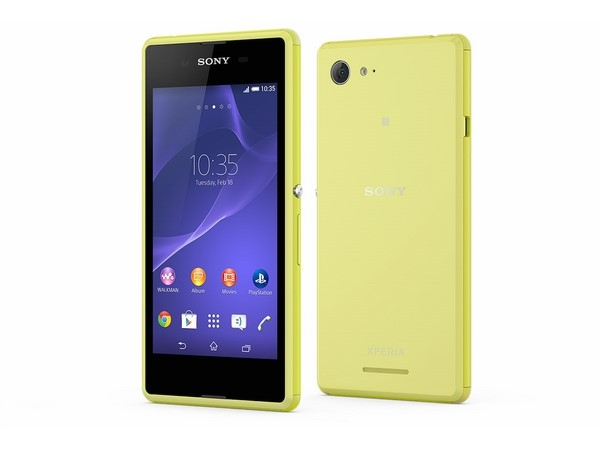 Sony Launches Xperia E3 and E3 Dual in India At Rs 11990 and Rs 12990