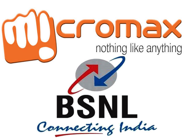 BSNL to Offer Free Data Plans On Micromax Smartphones and Tablets