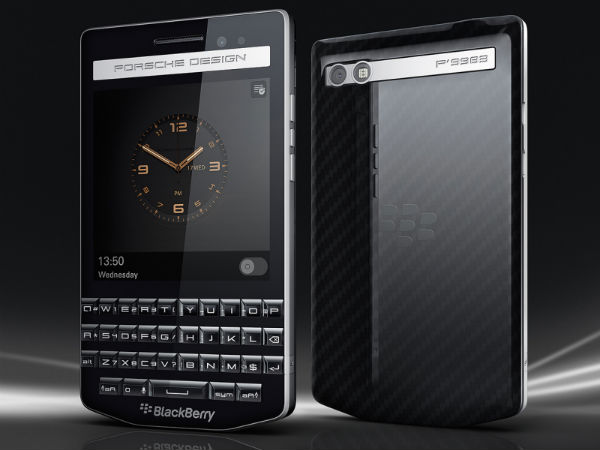 BlackBerry Porsche Design P'9983 Launched With Premium Design
