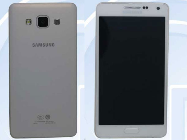 Samsung SM-A500 With Metallic Frame Leaks Online