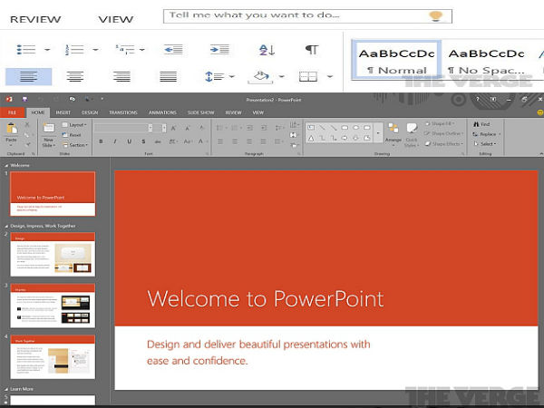 Microsoft Office 16 Screenshots Leak Online