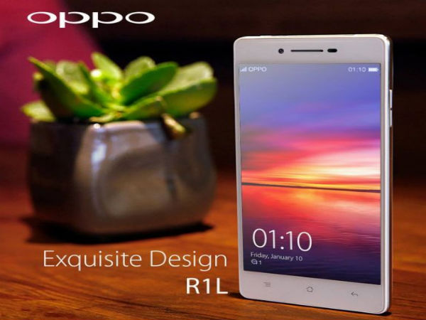 Oppo R1L Goes Official with Improved Specs and 4G LTE Connectivity