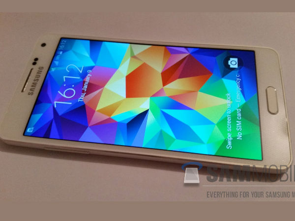 Samsung Galaxy A5 (SM-A500F) First Live Images leak Online