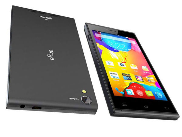 Arya Z2 Launched in India at Rs 6,999