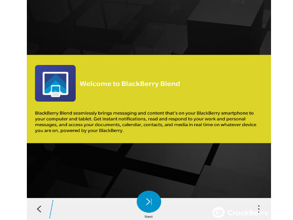 BlackBerry Blend Service Spotted Online For the First Time
