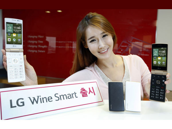 LG Launches Wine Smart Flip Phone With Android KitKat, LTE Support in