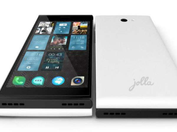 Jolla Smartphone with Sailfish OS Launched in India at Rs 16,499
