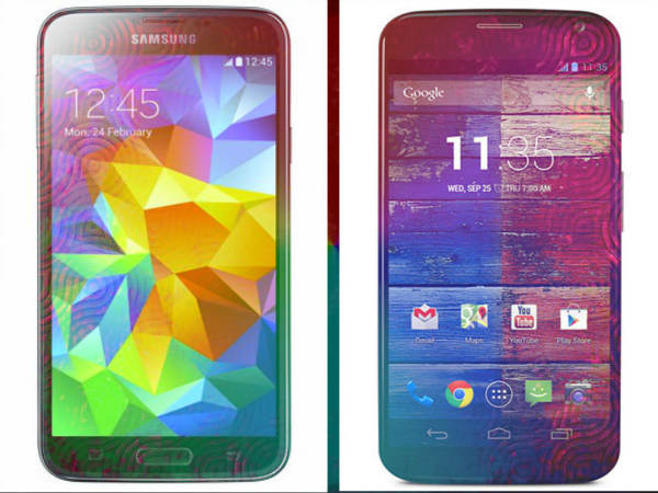 Samsung Galaxy S5 Vs New Motorola Moto X: A Detailed Analysis