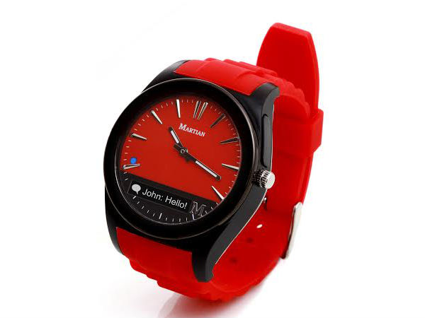 Martian Notifier Smartwatch Launched in India at Rs 9,999